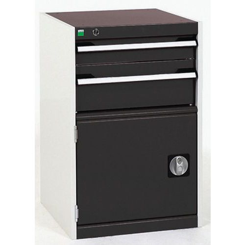 Bott Cubio Heavy Duty Metal Combination Tool Storage Cabinet WxD 525x650mm