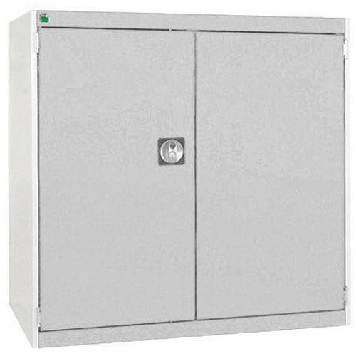 Bott Cubio Heavy Duty Cabinet With 2 Perfo Storage Doors WxD 1050x650mm