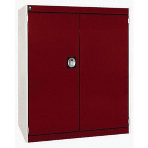 Bott Cubio Heavy Duty Tool Cabinet With 2 Perfo Storage Doors WxD 800x525mm