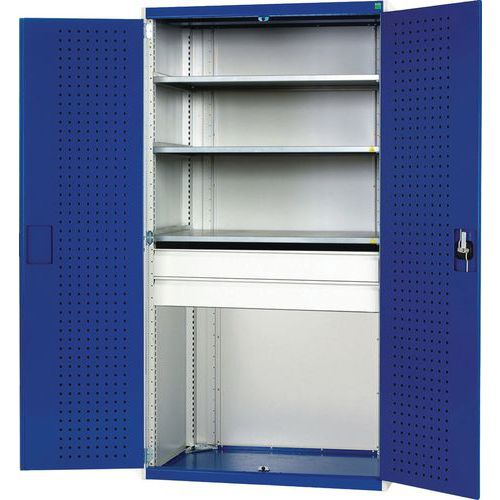 Bott Cubio 2 Drawer 3 Shelf Metal Cabinet 2000x1050x650mm