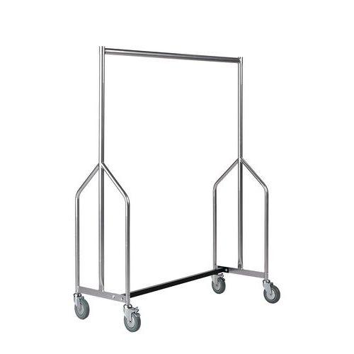 Heavy Duty Garment Rail With Z Frame Design
