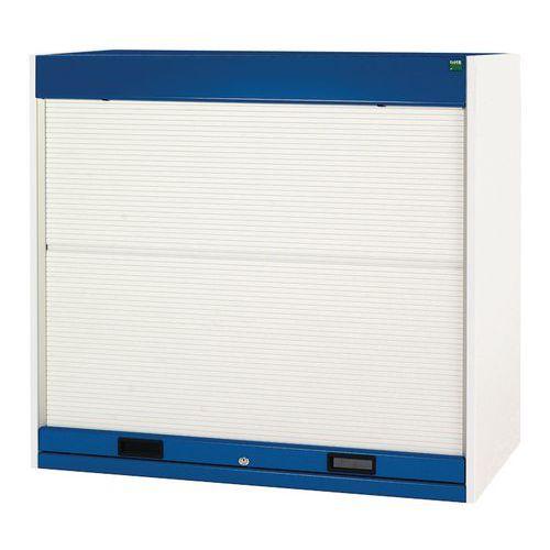 Bott Cubio Roller Shutter Metal Cabinet With 3 Shelves 1200x1050x650mm