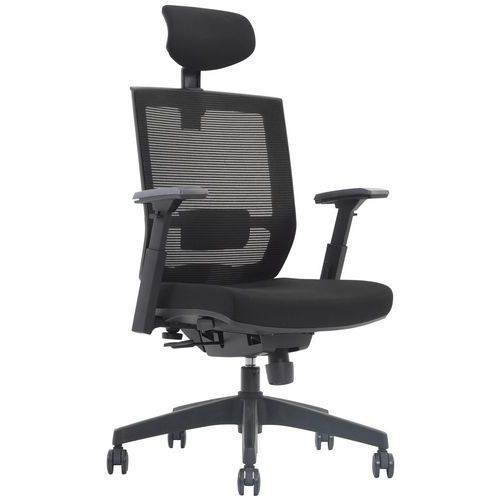 Drayton Mesh Back Ergonomic Office Chair with Headrest
