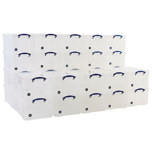 64L Really Useful Storage Plastic Boxes - Pallet Buy of 30 Units
