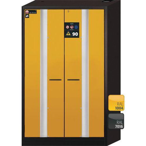 Asecos Phoenix Flammable 90min Fire Resistant Cabinet 1953x1193x615mm