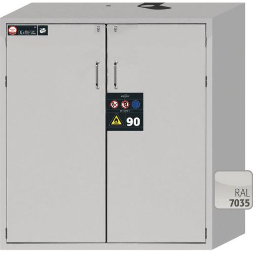 Asecos 90min Fire Resistant Flammable Wide Cabinet 1298x1196x616mm