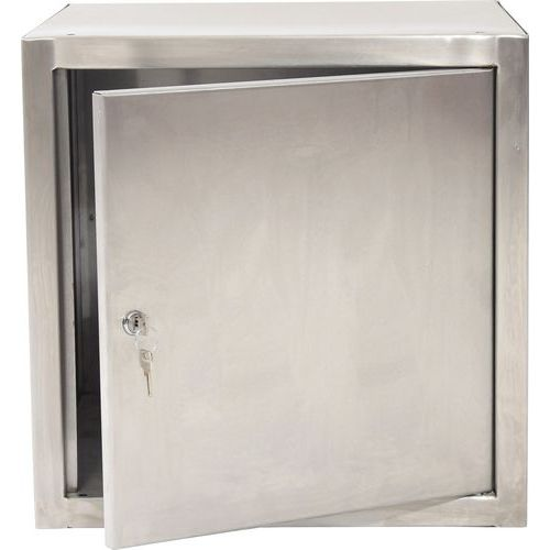 Stainless Steel Cube Locker