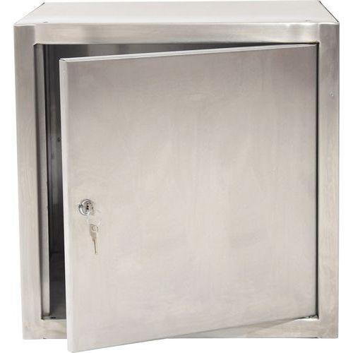 Stainless Steel Quarto Locker 610x457x457mm