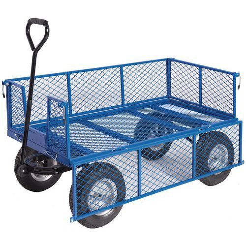 General Purpose Mesh Truck with Mesh Sides - 400kg