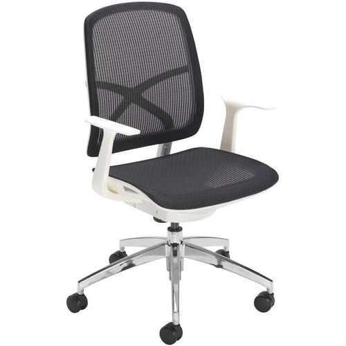 Buzz Mesh Office Chair with Armrests