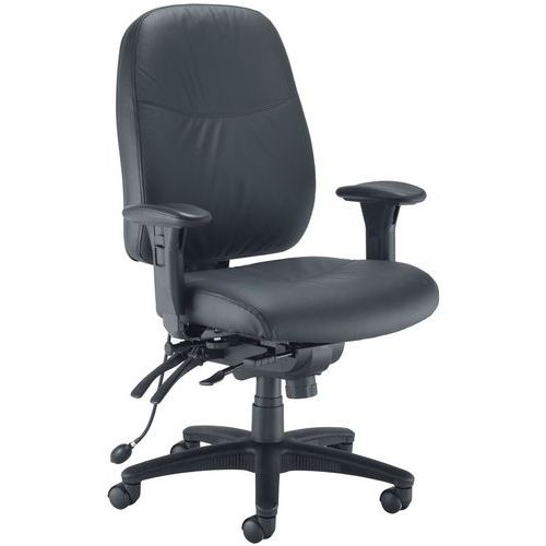 Ohio Leather Heavy Duty Office Chair