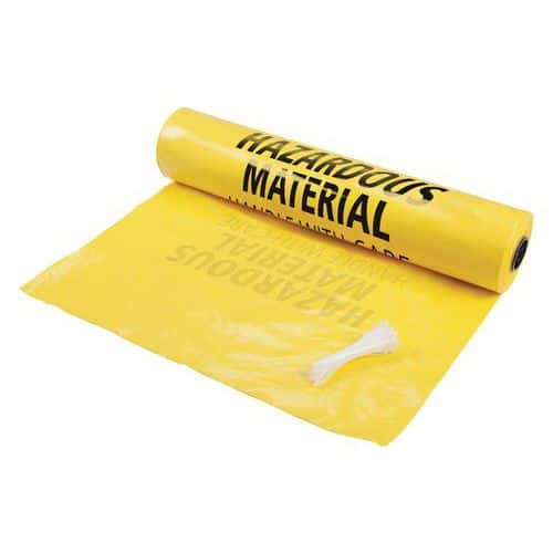 Recovery bag for used absorbent