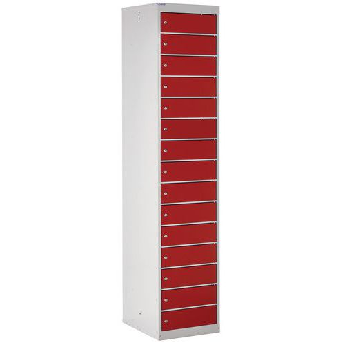 Laptop Storage/Charging Lockers With Multiple Compartments And Doors