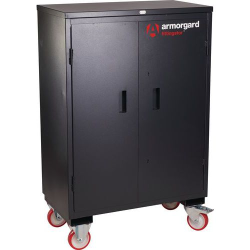 Armorgard Fittingstor Mobile Tool Storage Cabinet With Shelves