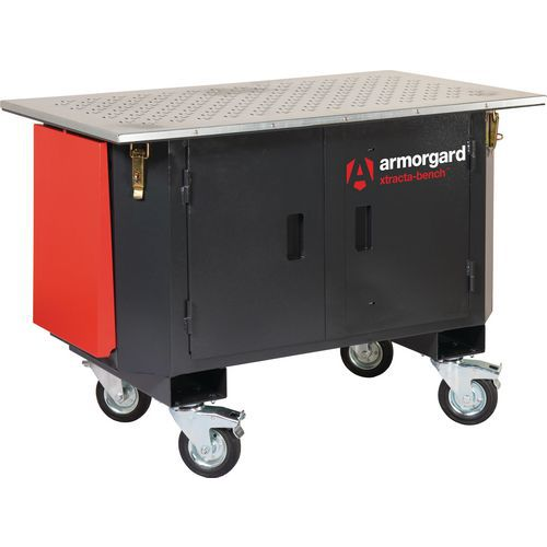 Armorgard Mobile Ventilated XtractaBench Workbench