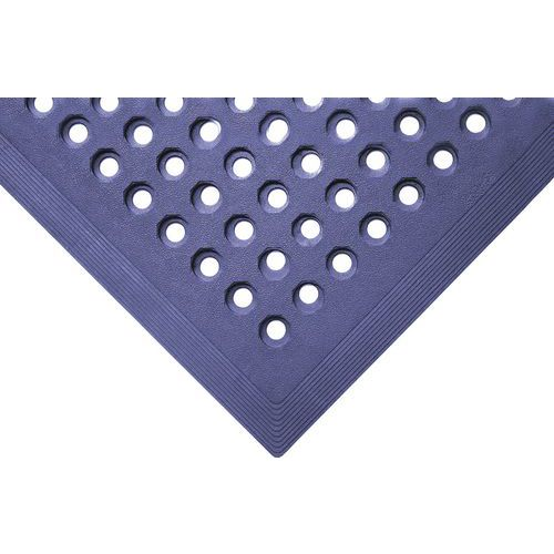 Blue Nitrile/Rubber Anti-Slip Safety Food Processing Mat