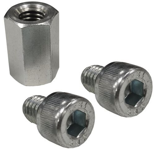Rapid 1 and Rapid 2 Shelving bay row spacer and socket head cap screws