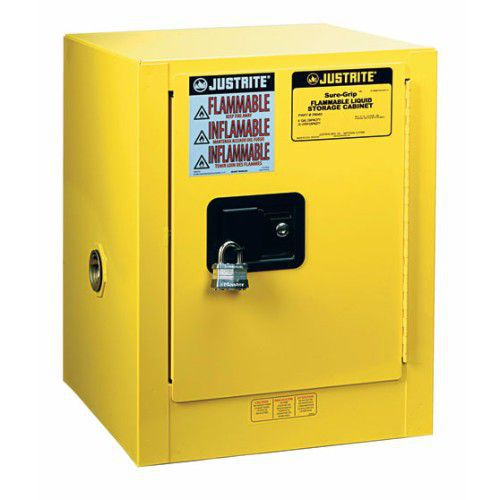 Justrite Compact Self Close Flammable Storage Cabinet