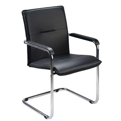 Olympus Leather Visitor Chair