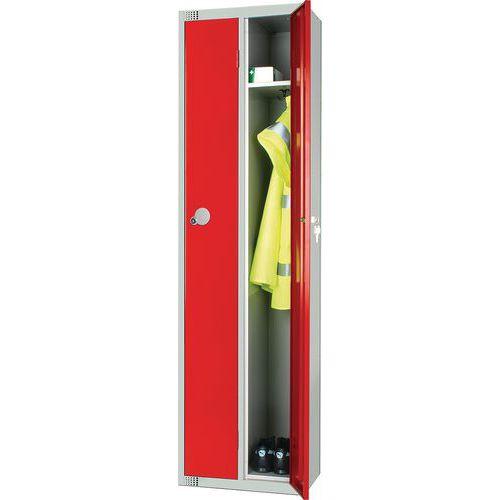 Metal Storage Lockers - Unit Of 2 - Antibacterial Coating - Elite