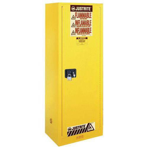 Justrite Slimline Flammable Storage Cabinet 1651x591x864mm