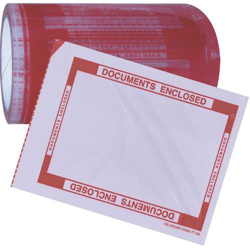 Documents Enclosed Pouch Tape