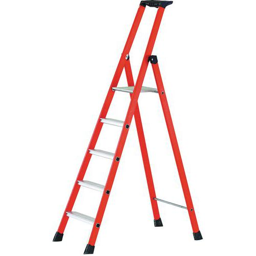Zarges Compact GRP Platform Step Ladder