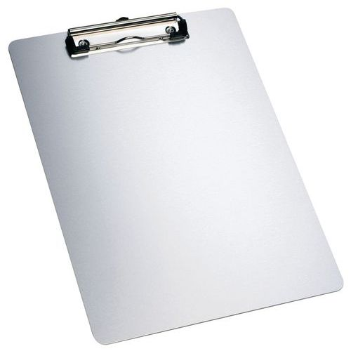 Highly resistant A4 magnetic aluminium clipboard - Manutan