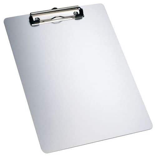 Highly resistant A4 magnetic aluminium clipboard - Manutan