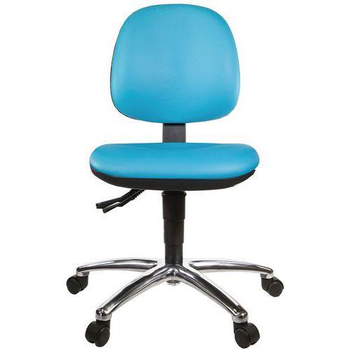 L-Tech Vinyl Low Chair