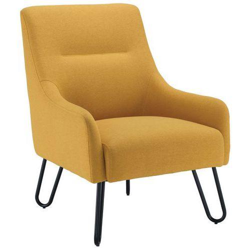 Pearl Fabric Armchair