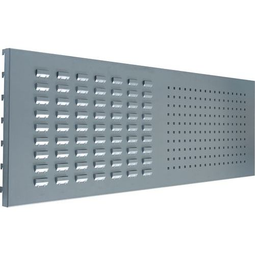 ESD Workbench Combination Louvre & Perforated Back Panel Accessory