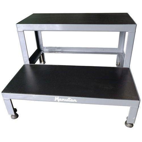 2-step steel stepstool - Manutan