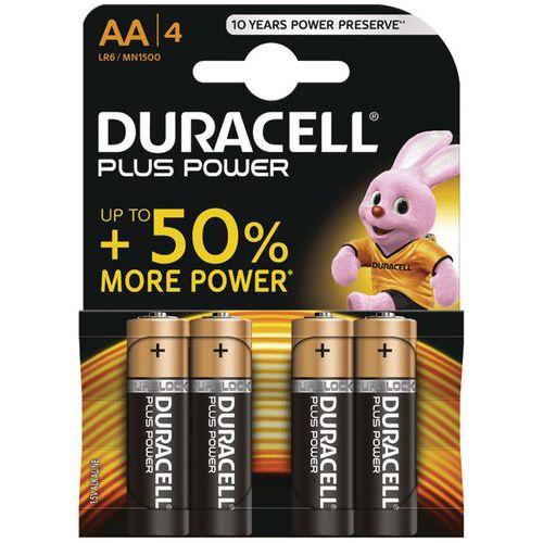 DURACELL Plus Power Batteries