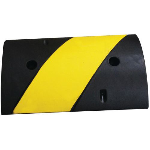 Speed bump - Black and yellow