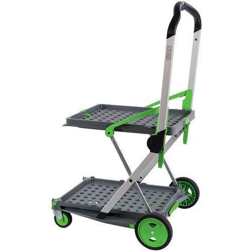 2 Shelf Folding Box Trolley - 60kg