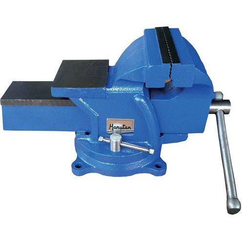 Workbench vice with rotating base - Manutan