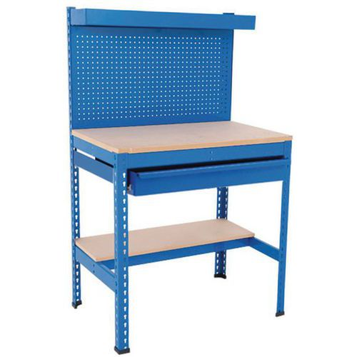 Rapid 1 Heavy Duty Compact Workstation with Full Drawer