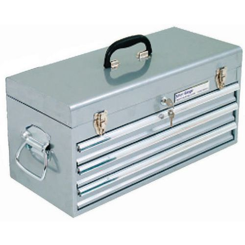 Silver Range Large Portable 3 Drawer Cabinets