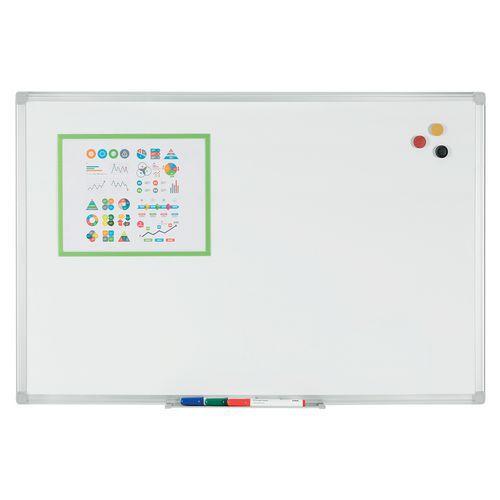 Enamelled Whiteboard - Manutan