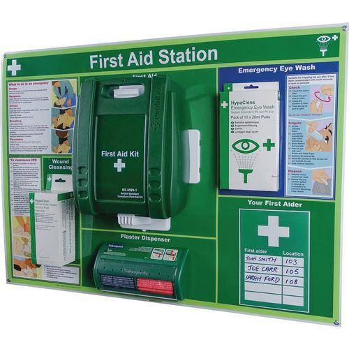 First Aid Kits - Comprehensive Wall-mounted Evolution Station