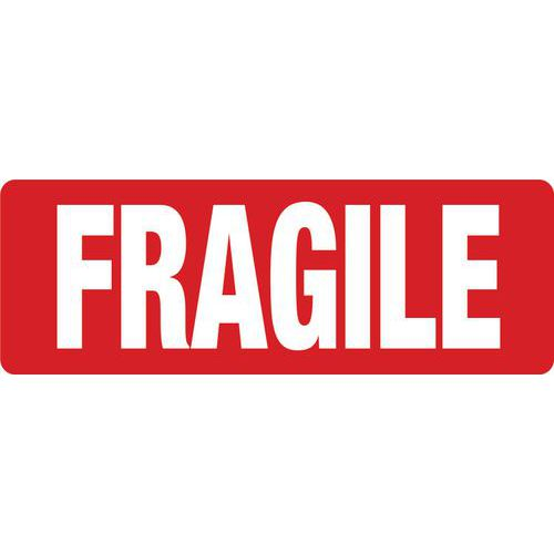 Shipping Labels - Preprinted 'Fragile' Labels
