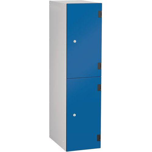 Overlay Laminate 2 Door Probe Locker HxWxD 1220x305x470mm