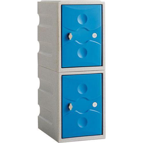 Small Plastic Probe Storage Lockers WxD 325x450mm