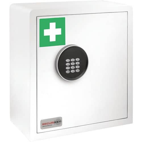 Electronic Locking Medicine Cabinet