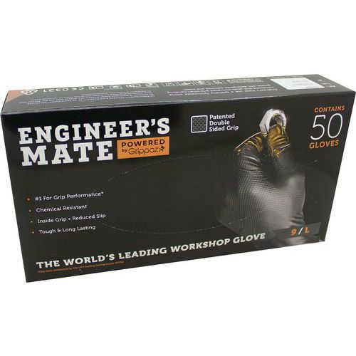 Black Engineers Mate Nitrile Gloves