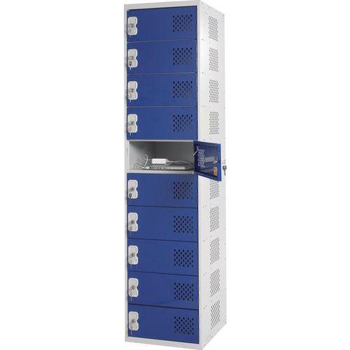 Laptop Charging Probe Blue 10 Door Locker HxWxD 1800x450x450mm