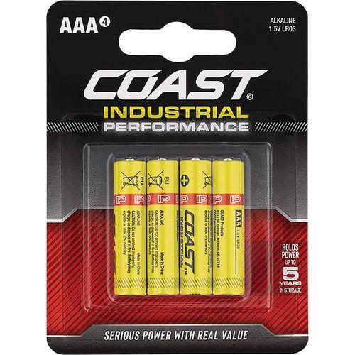 Coast Industrial Performance AAA Batteries Blister