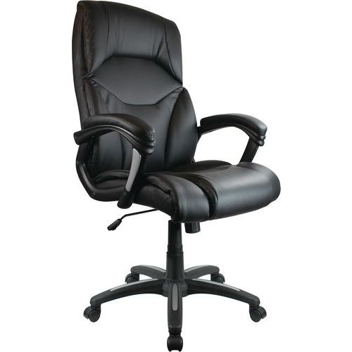 Calder High Back PU Leather Executive Office Chair