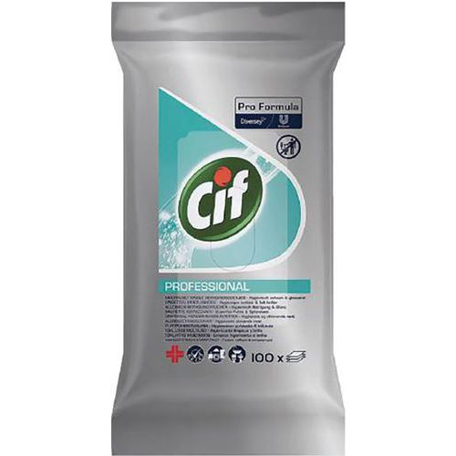 Multi-purpose wipe - Pack of 100 - Cif
